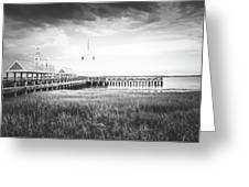 Summertime Storms In Charleston Greeting Card