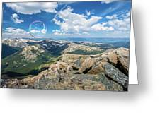 Summit Bubbles - Yale Greeting Card