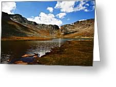 Summit Lake Colorado Greeting Card