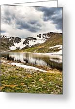 Summit Lake Study 3 Greeting Card