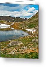 Summit Lake Study 5 Greeting Card