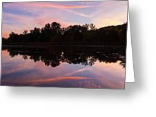 Summit Lake Sunset I  Greeting Card