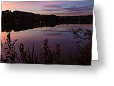 Summit Lake Sunset II  Greeting Card