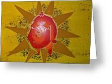 Sumo Sun Greeting Card