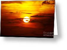Sun 32 Greeting Card