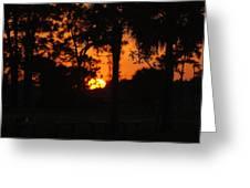 Sun Ball Greeting Card