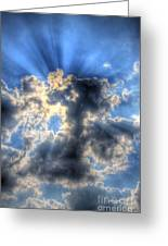 Sun Beams-2 Greeting Card