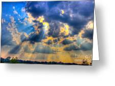 Sun Beams-4 Greeting Card