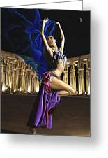 Sun Court Dancer Greeting Card