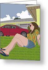 Sun Days Greeting Card