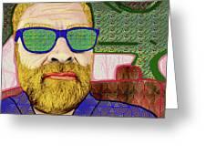 Sun Glasses Greeting Card
