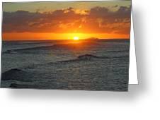 Sun Isabela Greeting Card