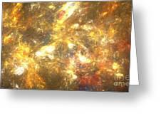 Sun Marble Greeting Card