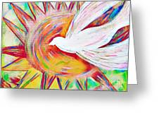 Healing Wings Greeting Card