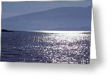 Sun On The Ocean Two  Greeting Card