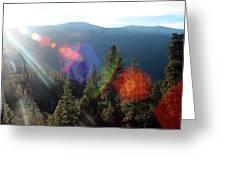 Sun Orbs Greeting Card