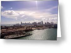 Sun Over Miami Greeting Card