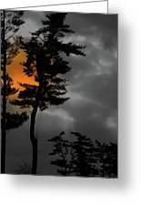 Sun Over Spring Ridge Greeting Card