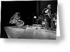 Sun Ra Arkestra At Freeborn Hall Greeting Card