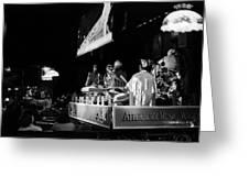 Sun Ra Arkestra At The Red Garter 1970 Nyc 11 Greeting Card