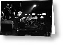 Sun Ra Arkestra At The Red Garter 1970 Nyc 17 Greeting Card