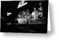 Sun Ra Arkestra At The Red Garter 1970 Nyc 18 Greeting Card