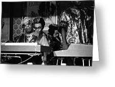 Sun Ra Arkestra At The Red Garter 1970 Nyc 36 Greeting Card
