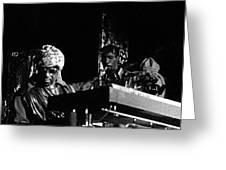 Sun Ra Arkestra At The Red Garter 1970 Nyc 7 Greeting Card