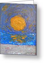 Sun Sea And Sand Greeting Card