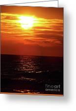 Sun Setting Greeting Card