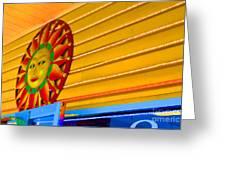 Sun Shopping Greeting Card