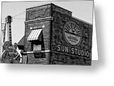 Sun Studio Collection Greeting Card