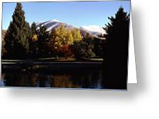Sun Valley Morning Greeting Card
