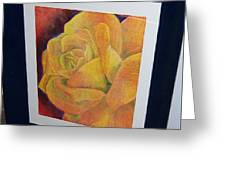 Sunburst Rose Greeting Card