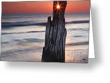 Suncrack Greeting Card