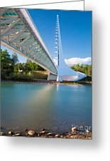 Sundial Bridge 1 Greeting Card