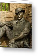 Sundance Kid Statue 4 Greeting Card