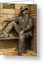Sundance Kid Statue 5 Greeting Card