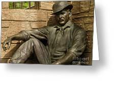 Sundance Kid Statue 6 Greeting Card