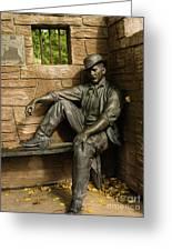 Sundance Kid Statue Greeting Card