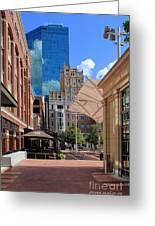 Sundance Square 5484mx Greeting Card