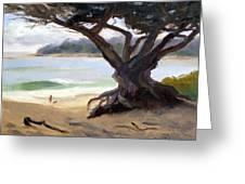 Sunday Afternoon Carmel Beach Greeting Card