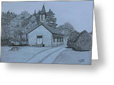 Sunday In Fairview  Greeting Card