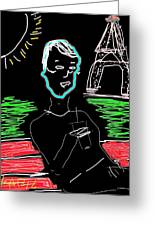 Sunday In Paris Greeting Card