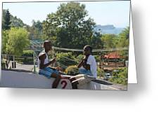 Sunday Morn Greeting Card