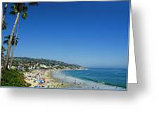 Sunday On Laguna Beach Greeting Card