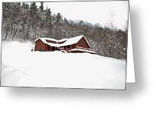 Sunday River Greeting Card