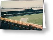 Sunderland - Roker Park - Clock Stand 1 - Leitch - 1970s Greeting Card