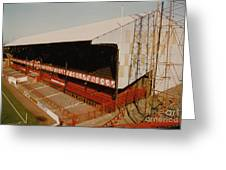 Sunderland - Roker Park - Main Stand 2 - Leitch - 1970s Greeting Card