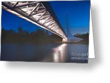 Sundial Bridge 4 Greeting Card